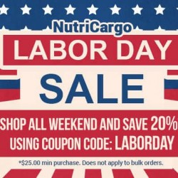 Save 20% During Our Labor Day Sale