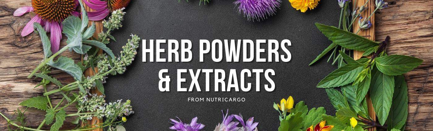Herb Powders & Extracts