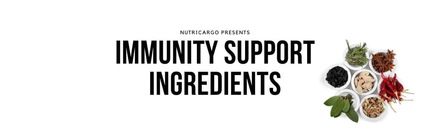 NutriCargo Presents: Immunity Support Ingredients