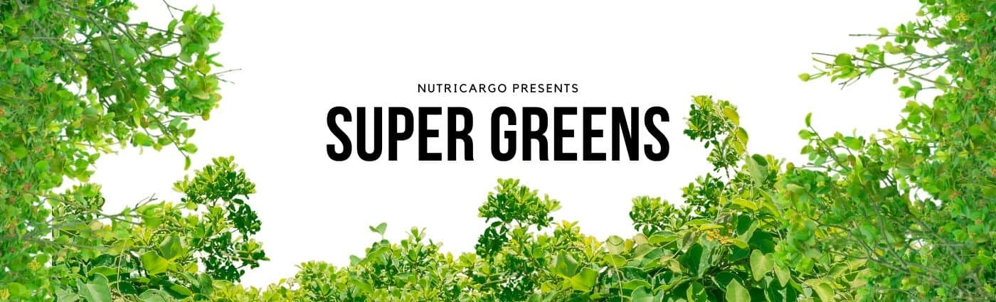 Introducing Super Green Ingredients From NutriCargo