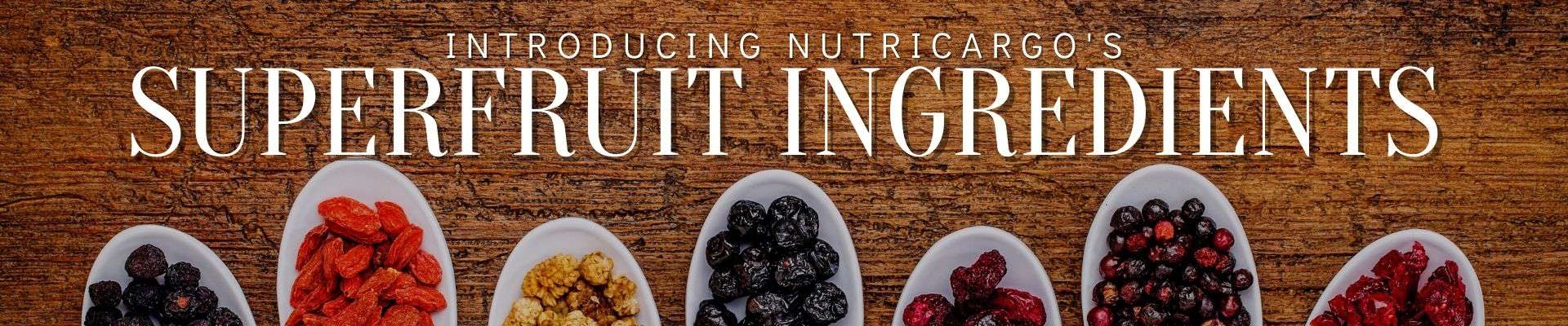 Superfruit Powders From NutriCargo, LLC