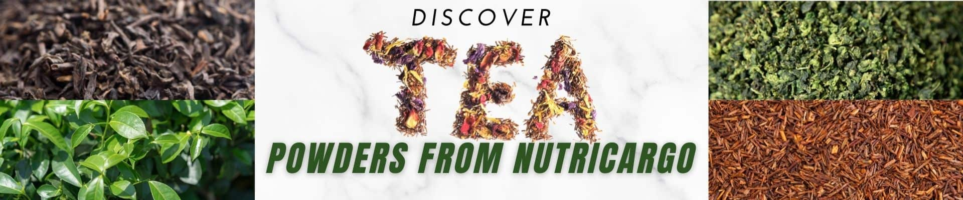 Save On Wholesale Tea Powders From NutriCargo